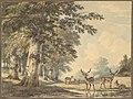Deer under Beech Trees in Winter MET DP827272.jpg