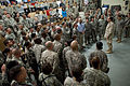 Defense.gov News Photo 110422-N-TT977-089 - Chairman of the Joint Chiefs of Staff Adm. Mike Mullen conducts an all hands call with service members assigned to the 25th Infantry Division at.jpg