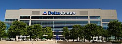 EnergySolutions Arena, formerly known as the Delta Center, has been the home of the Utah Jazz since 1991.