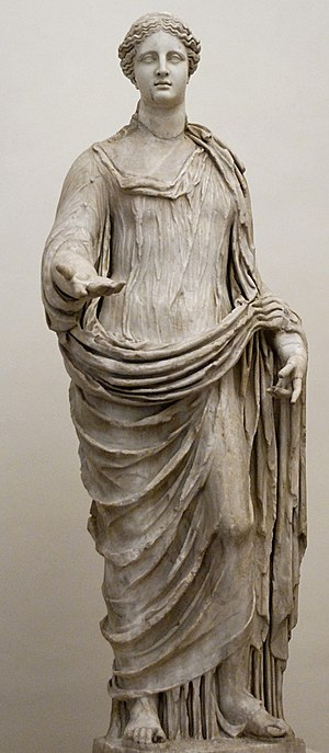 Demetrius - A statue of the goddess Demeter