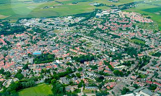 Den Burg Place in North Holland, Netherlands