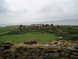 Gairsay - A derelict farm on Gairsay