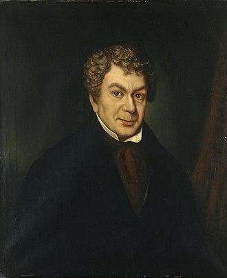 David Owen (Dewi Wyn o Eifion) - David Owen, painted by William Roos, National Gallery of Wales