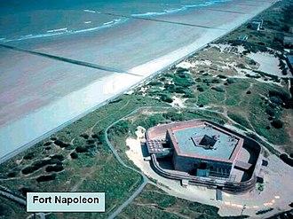 Fort Napoleon, Ostend - Image: Dia 17