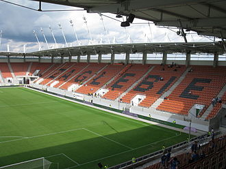 Zagłębie Lubin - Stadion Zagłębia Lubin