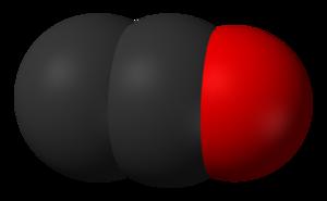 Dicarbon monoxide - Image: Dicarbon monoxide 3D vd W