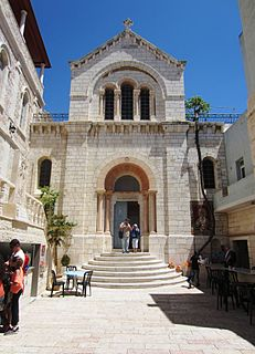 Church of Our Lady of Sorrows, Jerusalem Church in Old City of Jerusalem, Israel/Palestine