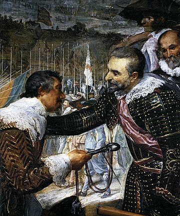 Diego Velázquez - The Surrender of Breda (detail) - WGA24404
