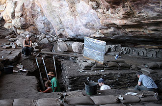 Middle Stone Age - 2009 excavations at the Diepkloof Rock Shelter