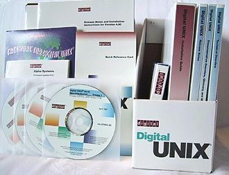 Tru64 UNIX - Digital Unix distribution media