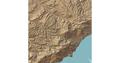 Digital elevation model (DEM) of South Crimea.png