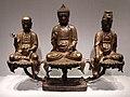 Dinastia joseon, triade amithaba, xv secolo.jpg
