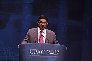 Dinesh D'Souza - Dinesh D'Souza speaking at CPAC 2012.