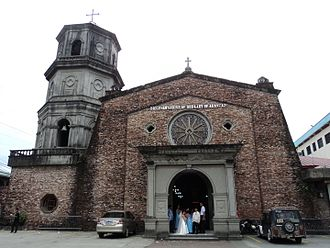 Our Lady of Arantzazu - The church where the current image is enshrined.