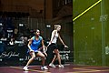 Dipika Pallikal (India) defeated Jaclyn Hawkes (New Zealand) in the women's semifinals 03.jpg