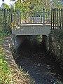 Dipple Burn passes under Redheugh road. - geograph.org.uk - 607551.jpg