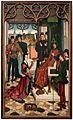Dirk bouts, la giustizia dell'imperatore ottone, supplizio del conte innocente e prova del fuoco, 04.JPG