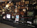Display of vintage televisions and radios at Amberley Working Museum - geograph.org.uk - 1245472.jpg