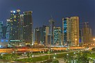 Doha's West Bay near Sheraton Hotel.jpg