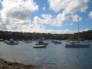 Dolans Bay bight in Australia