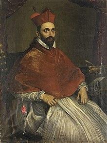 Il cardinale Ghislieri ritratto dal Domenichino
