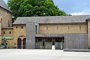 Essen Cathedral Treasury - Essen Cathedral Treasury chamber next to Essen Minster