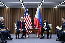 Philippines-Foreign relations-Donald Trump and Rodrigo Duterte in Manila (6)