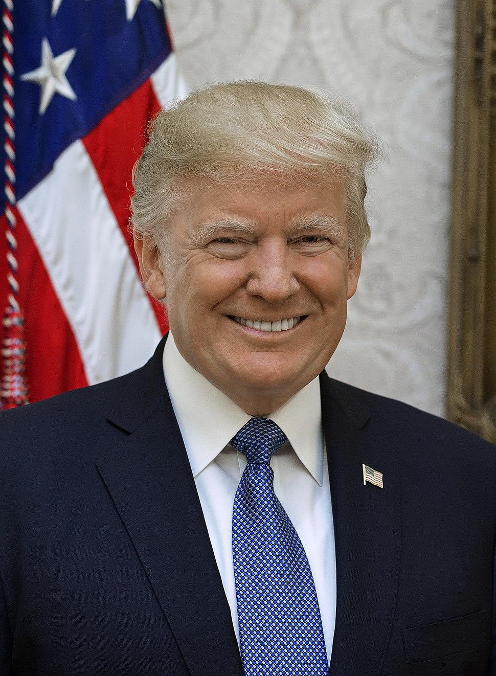 Donald Trump official portrait (cropped 2)
