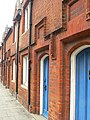 Doors of Almshouses, Dame Alice Street, Bedford - geograph.org.uk - 1383813.jpg