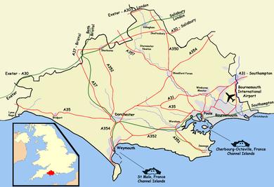 Map Of Uk Dorset.Isle Of Portland Wikipedia