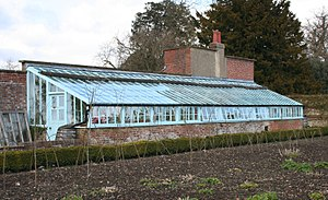 Down House - Darwin's greenhouse at Down House where he conducted many experiments