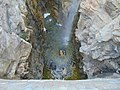 Down at grotto waterfall in Ashton Gardens at Thanksgiving Point, May 16.jpg