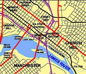 Neighborhoods Of Richmond Virginia  Wikipedia