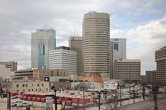 Winnipeg Capital Region - Downtown Winnipeg skyline