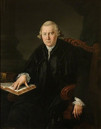 John Gregory (moralist) - Portrait of Dr John Gregory, painted by George Chalmers.