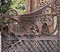 Dragon gate at Pavellons Güell, Antoni Gaudi.jpg