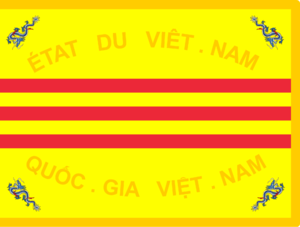 Nguyễn Văn Thiệu - Image: Drapeau de l'Armée Nationale Vietnamienne