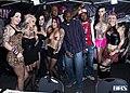 Draven Star, Jessie Lee, Scarlet LaVey, Joanna Angel, Sierra Cure and Kleio Valentien at Exxxotica New Jersey 2014 (16284285245).jpg