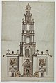 Drawing, Bell tower, probably for Ferdinand IV of Naples, 1785 (CH 18541069).jpg