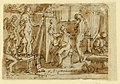 Drawing, Page of a sketchbook; Zeuxis painting Helen; Ecce Homo, ca. 1590 (CH 18117851).jpg