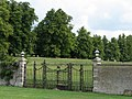 Drayton House-gates to walled garden-geograph.org.uk-2484642.jpg