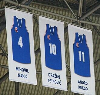 KK Cibona - Image: Dres Nakic Petrovic Knego