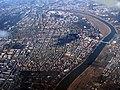 Dresden-Ost Blaues Wunder Blasewitz Striesen Johannstadt Elbwiese Luftaufnahme 20060217.jpg