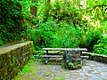 Drinking fountain and table beside Soda Springs in Cascadia State Park.jpg
