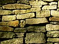 Drystone wall close up, Brantwood Road, Chalford - geograph.org.uk - 1020616.jpg