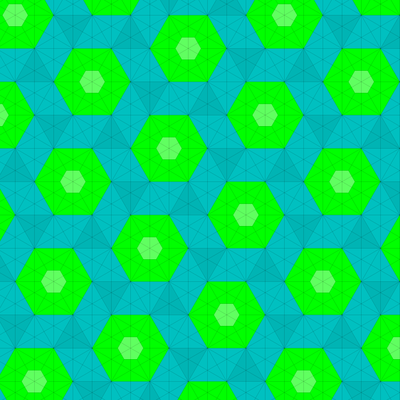 Dual of Fractalizing the Snub Trihexagonal Tiling (Truncated Trihexagonal).png