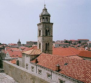 Croatian Dominican Province - Image: Dubrovnik Old Town Tower