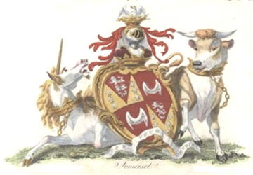Duke of Somerset coa