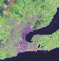 Dunedin city urban area no inset.png