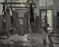Dutch Painting in the 19th Century - Tholen - A Butcher's Shop.png